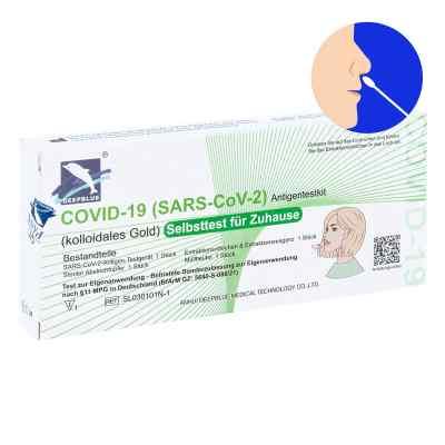 Laientest Deepblue Medical - Covid-19 SAR-CoV-2 Antigen Rapid Na  bei apo-discounter.de bestellen