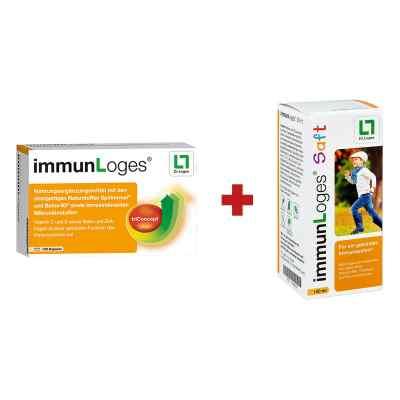 immunLoges Kapseln 120stk + GRATIS immunLoges Saft 150ml  bei apo-discounter.de bestellen