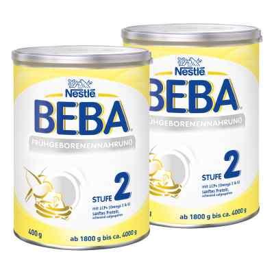 Nestle Beba Frühgeborenen Nahrung Stufe 2 2er Paket  bei apo-discounter.de bestellen