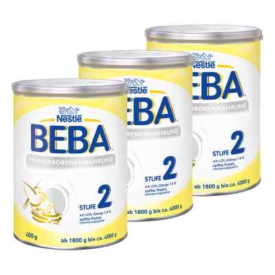 Nestle Beba Frühgeborenen Nahrung Stufe 2 3er Paket  bei apo-discounter.de bestellen