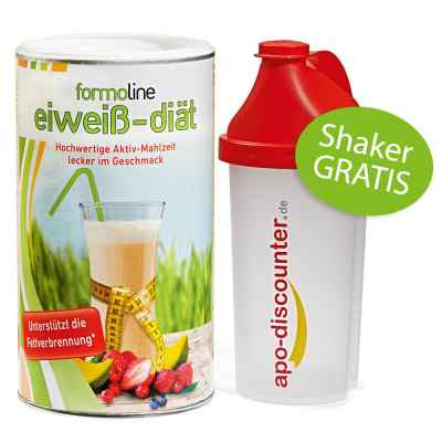 Formoline eiweiss-diät Pulver (480 g) + Shaker Gratis  bei apo-discounter.de bestellen