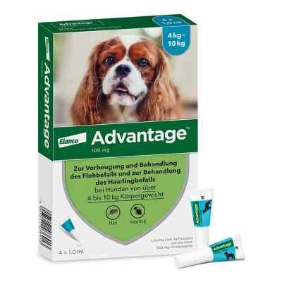 Advantage 100 für Hunde Lösung  bei apo-discounter.de bestellen