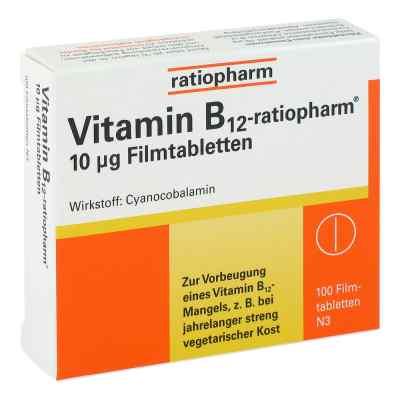 Vitamin B12 ratiopharm 10 [my]g Filmtabletten