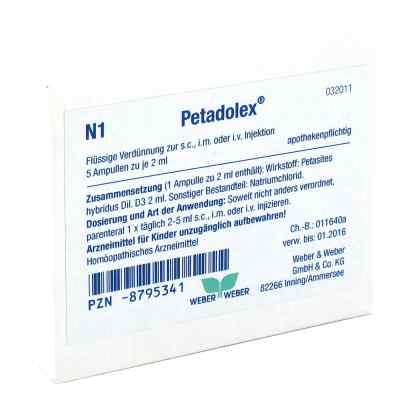 Petadolex Ampullen