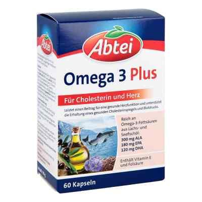 Abtei Omega 3 6 9 Lachsöl+leinöl+oliv.öl Kapseln