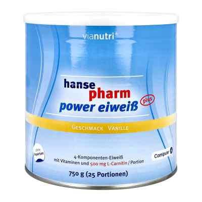 Hansepharm Power Eiweiss plus Vanille Pulver  bei apo-discounter.de bestellen