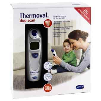 Thermoval duo scan Fieberthermometer für Ohr+Stirn  bei apo-discounter.de bestellen