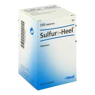Sulfur Comp.heel Tabletten  bei apo-discounter.de bestellen