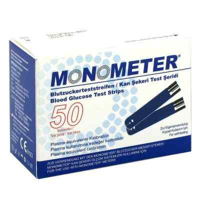 Monometer Blutzucker-teststreifen P plasma-äquiv.  bei apo-discounter.de bestellen
