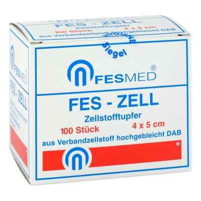Zellstofftupfer Fes Zell 4x5 cm hochgebleicht  bei apo-discounter.de bestellen