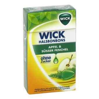 Wick Apfel & Süsser Fenchel Bonbons ohne Zucker