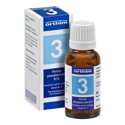 Biochemie Globuli 3 Ferrum phosphoricum D12  bei apo-discounter.de bestellen