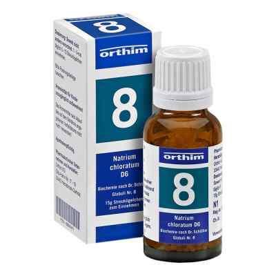 Biochemie Globuli 8 Natrium chloratum D6  bei apo-discounter.de bestellen