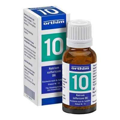 Biochemie Globuli 10 Natrium sulfuricum D 6  bei apo-discounter.de bestellen