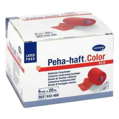 Peha Haft Color Fixierbinde latexf.6 cmx20 m rot  bei apo-discounter.de bestellen