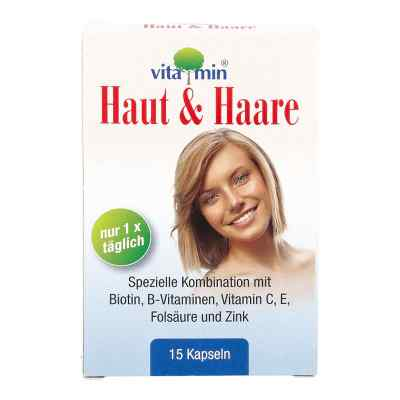 Haut + Haare Vitamin Natur Pharma Kapseln  bei apo-discounter.de bestellen