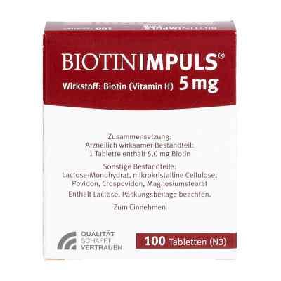 Biotin Impuls 5 mg Tabletten  bei apo-discounter.de bestellen