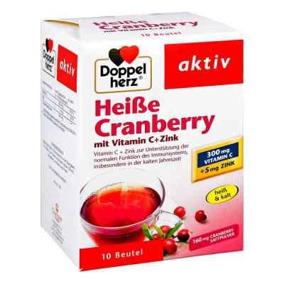 Doppelherz Heisse Cranberry mit Vitamin C +Zink Granulat