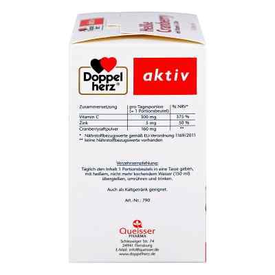 Doppelherz Heisse Cranberry mit Vitamin C +Zink Granulat  bei apo-discounter.de bestellen