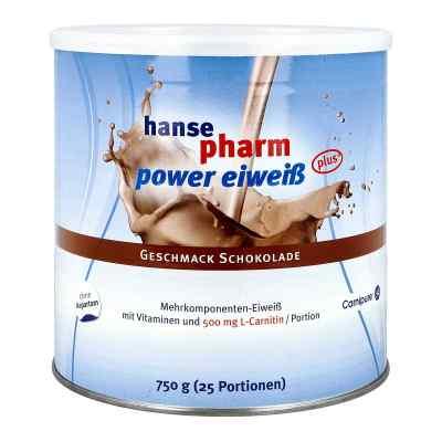 Hansepharm Power Eiweiss plus Schoko Pulver  bei apo-discounter.de bestellen