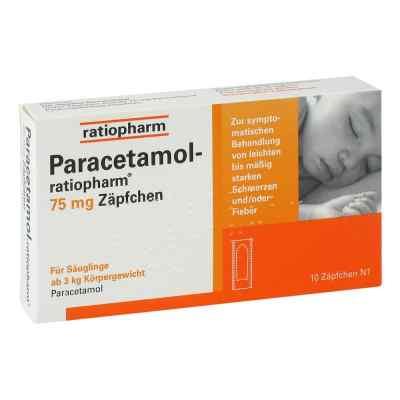 Paracetamol-ratiopharm 75mg