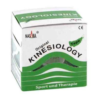 Nasara Kinesio Tape 5 cmx5 m grün inkl.Spenderbox  bei apo-discounter.de bestellen