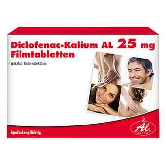 Diclofenac-Kalium AL 25mg