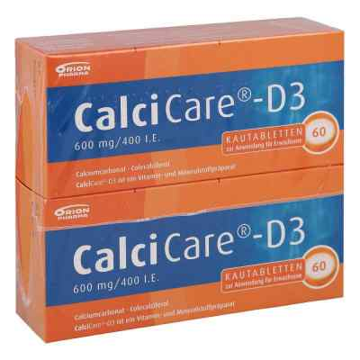 CalciCare-D3 600mg/400 I.E.