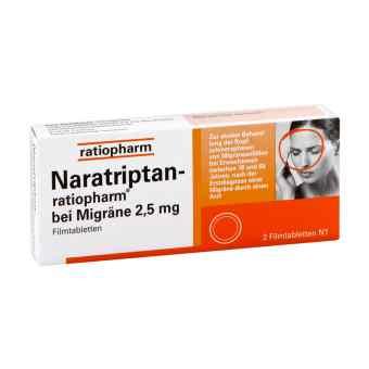 Naratriptan-ratiopharm bei Migräne 2,5mg