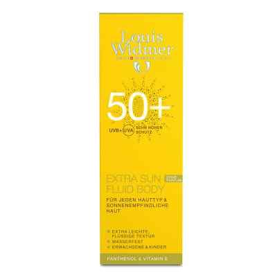 Widmer Extra Sun Fluid Body 50+ unparfümiert  bei apo-discounter.de bestellen