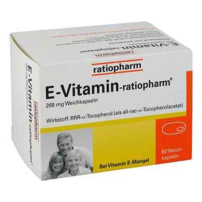 E Vitamin ratiopharm Kapseln
