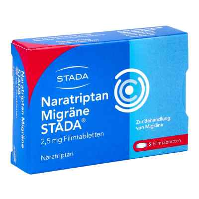 Naratriptan Migräne STADA 2,5mg