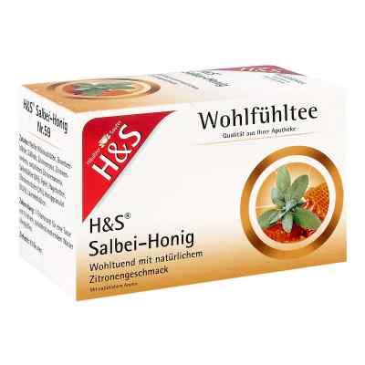 H&s Wohlfühltee Salbei Honig mit Zitrone Filterb.