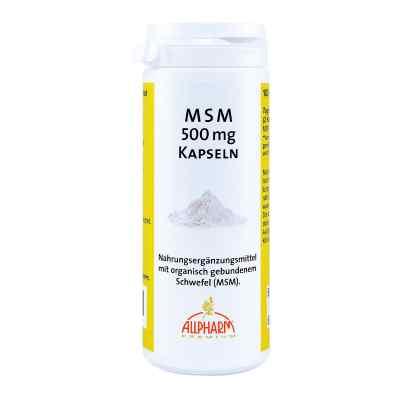 Msm Kapseln 500 mg  bei apo-discounter.de bestellen