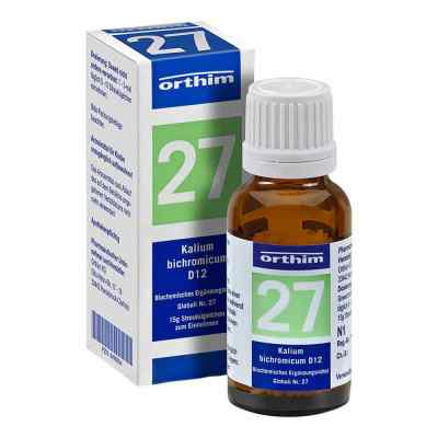 Biochemie Globuli 27 Kalium bichromicum D12  bei apo-discounter.de bestellen