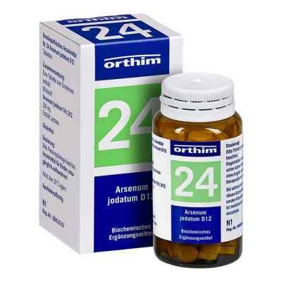 Biochemie Orthim 24 Arsenum jodatum D 12 Tabletten  bei apo-discounter.de bestellen