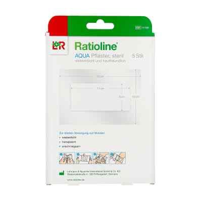 Ratioline aqua Duschpflaster Plus 10x15 cm steril  bei apo-discounter.de bestellen