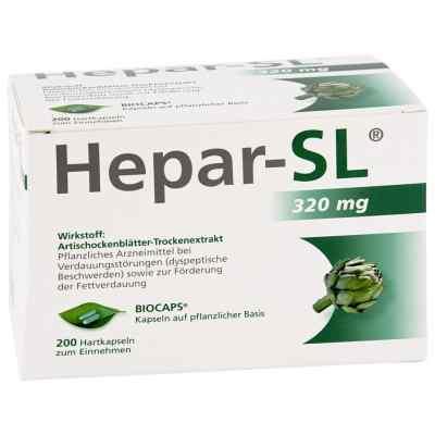 Hepar Sl 320 mg Hartkapseln