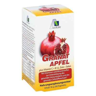 Granatapfel 500 mg plus Vitamine c + B12 + Zink + Selen  bei apo-discounter.de bestellen