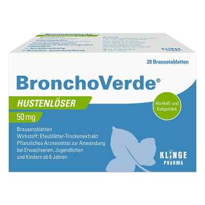 Bronchoverde Hustenlöser 50 mg Brausetabletten  bei apo-discounter.de bestellen