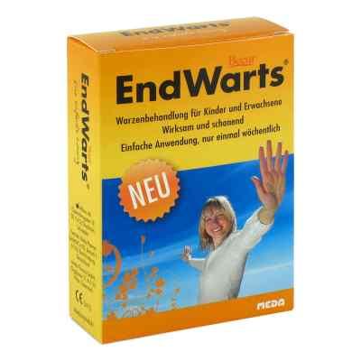 Endwarts Lösung + 10 Wattestäbchen zum Betupfen