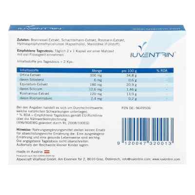 Iuventrin Potenzmittel natürl. Inhaltsstoffe Kapsel (n)  bei apo-discounter.de bestellen