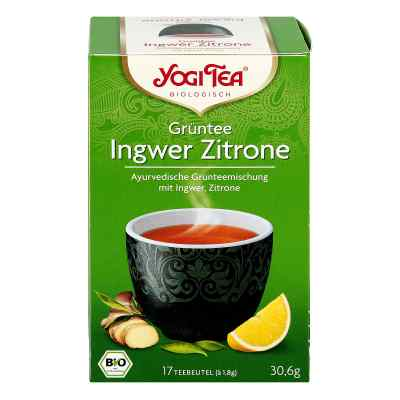 Yogi Tea Grüntee Ingwer Zitrone Bio Filterbeutel  bei apo-discounter.de bestellen