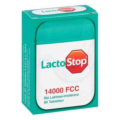 Lactostop 14.000 Fcc Tabletten im Spender