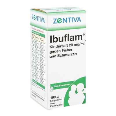 Ibuflam Kindersaft 2% gegen Fieber und Schmerzen