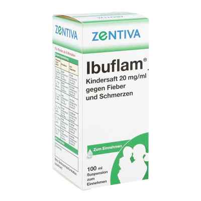 Ibuflam Kindersaft 2% gegen Fieber und Schmerzen  bei apo-discounter.de bestellen