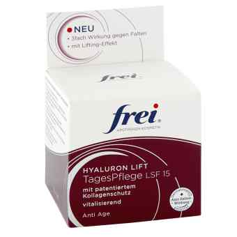 Frei Anti Age Hyaluron Lift Tagespflege Lsf15