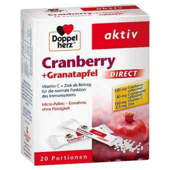 Doppelherz Cranberry + Granatapfel direct