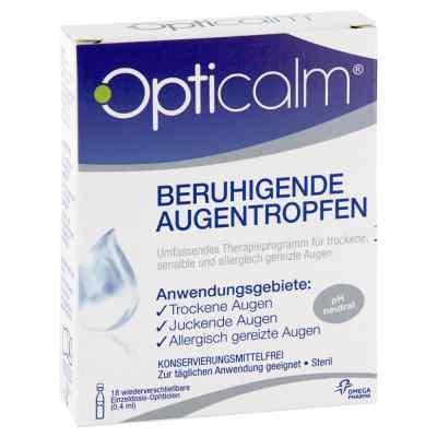 Opticalm beruhigende Augentropfen