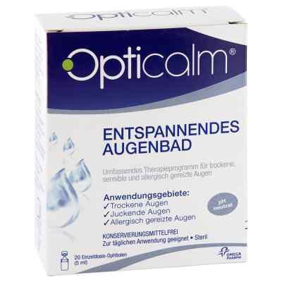 Opticalm entspannendes Augenbad